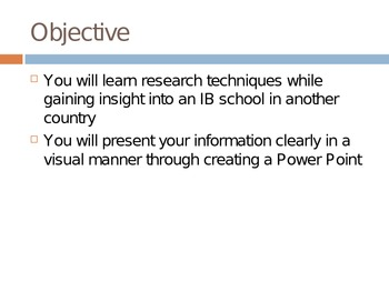 IB Research Project