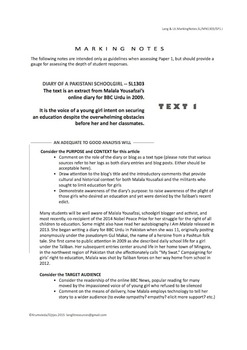 IB SL Mock Exam Packet and Marking Notes ... Paper 1 (includes 3 complete exams)