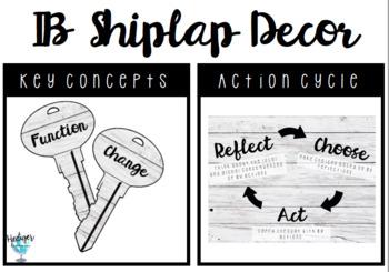 IB Shiplap Key Concepts