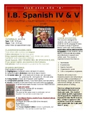 "IB Spanish IV and V HL / SL class syllabus - Año ""B"""