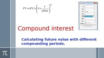 ib studies compound interest and finance solver by ib mathematics