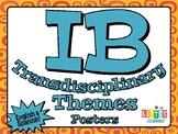IB TRANSDISCIPLINARY THEME Posters - English & Spanish