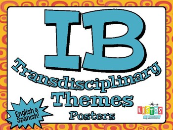 IB TRANSDISCIPLINARY THEME Posters - English & Spanish