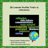 IB Learner Profile Traits in Literature