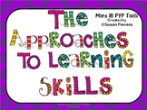 IB PYP Approaches to Learning Skills Posters for Big Kids