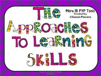 IB TransDisciplinary Skills Posters for Big Kids