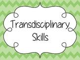 IB Transdisciplinary Skills