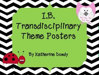 IB Transdisciplinary Themes Posters