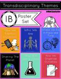 IB Transdisciplinary Themes and Indicators Poster Set 2