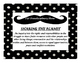 IB Transdisciplinary Themes-mustache with polka dot theme