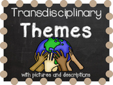 IB Transdisciplinary Themes with pictures