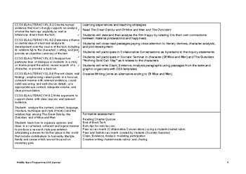 IB Unit MYP Language & Literature