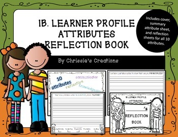 International Baccalaureate IB Learner Profile Reflection Book
