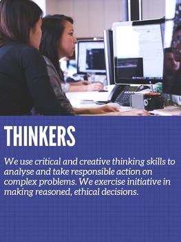 IB learner profiles posters