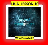 IBA CH./LESSON #10  {WORDS SEARCH # 2}