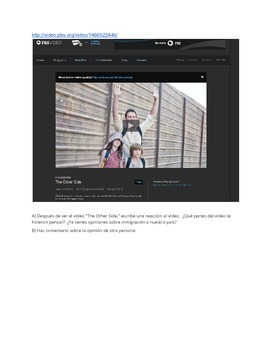 IB/AP Spanish: Cuestiones globales/Desafíos mundiales -Inmigración -Conversación