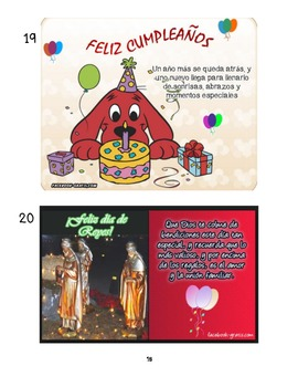 IB/AP/3H Spanish - Celebraciones (Celebrations) - Navidad (Christmas)