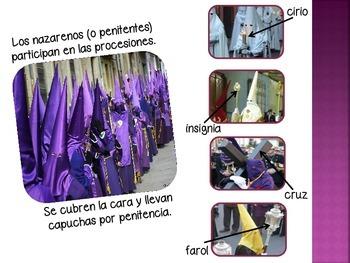 IB/AP/3H Spanish - Celebraciones (Celebrations) - Semana Santa (Holy Week)