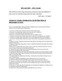IBDP History Paper 1 OPVL Exam