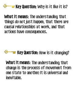 IBPYP Key Concepts