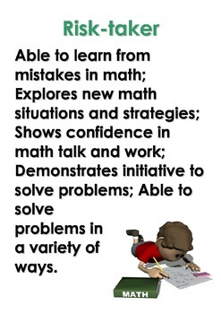 IB/PYP  Math Learner Profile