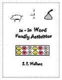 IC-IX WORD FAMILY ACTIVITIES