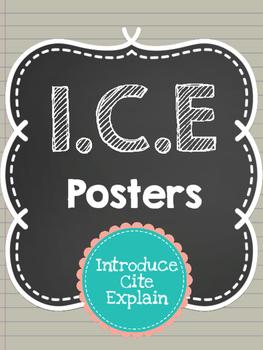 ICE Acronym Posters