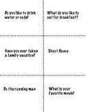 ICE BREAKER Card Game