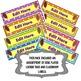 ICE CREAM BARS! {editable} real photos...name plates, locker tags, labels