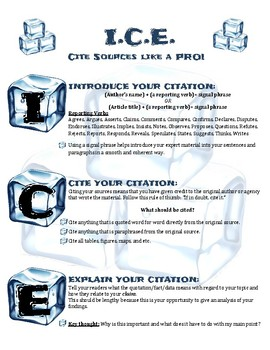 ICE Citation Poster