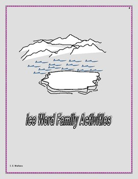 WORD FAMILY WORKBOOK ICE-ITE