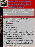 "ICEBREAKER ""Storytellers"" - Team Building, All Subjects -"