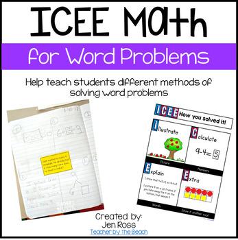 ICEE Math - Word Problems Poster FREEBIE