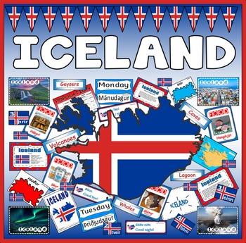 ICELAND RESOURCES ICELANDIC LANGUAGE key stage 2-4 EUROPE GEOGRAPHY