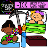 ICK Short I Word Family {Creative Clips Digital Clipart}