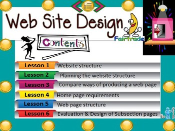 FREE-ICT Basic Web Design Year 7, Grade 7, Year 8, Grade 8, Lesson Prompt ppt