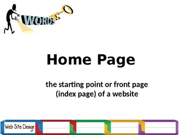 FREE-ICT Basic Web Design Year 7, Grade 7, Year 8, Grade 8, Keywords for ppt