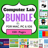 Computer Lab Bundle for Mac / PC & iOS (150 pages of Techn