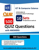 ICT & Computer Science 500 QUIZ Questions with Answer
