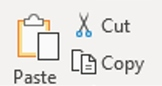ICT - Cut, Copy and Paste in Word