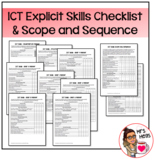 ICT Explicit Skills Checklist and Scope and Sequence