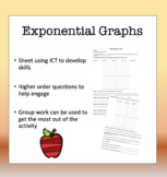 ICT Exponential Curve Interactive Activity