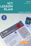 ICT Lesson Plan / Activity / Worksheet : I AM Social Media