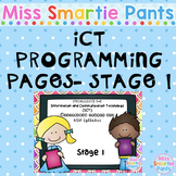 ICT Programming Pages- Stage 1