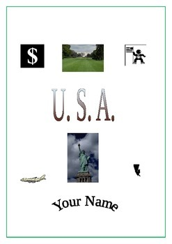 ICT Word Processing Tasks: USA Posters