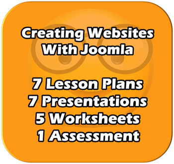 ICT/Computer Science. - Creating Websites with Joomla CMS. Complete Unit
