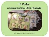 ID Badge Communication Mini-Boards