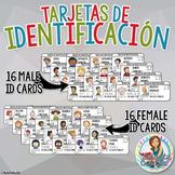 ID Cards (Tarjetas de Identidad) in Spanish