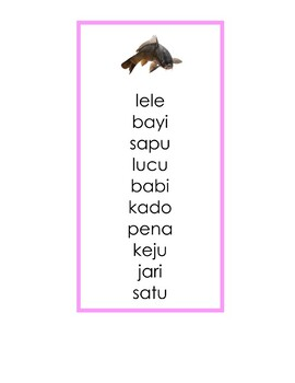 ID - Seri Merah Muda Bahasa Indonesia - Daftar Kata (word list)