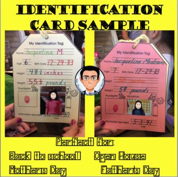 ID tags/ Targetas de identificación